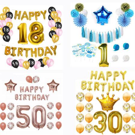 Zestawy urodzinowe