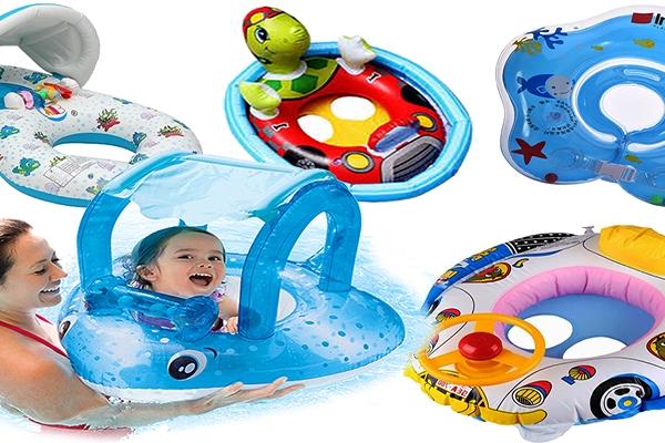 Koła do pływania, pontony dla dzieci, dmuchańce