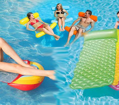 Materace i fotele do pływania