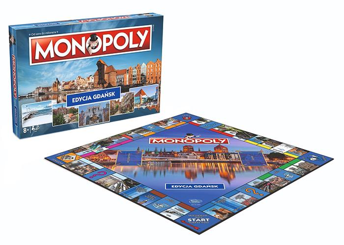 Gra Monopoly Edycja Gdansk Wm4494 Hurtownia Zabawek Odpustowe Pl